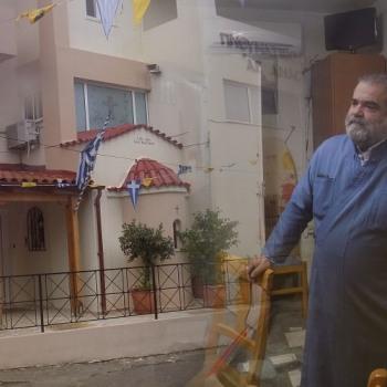 Πατέρας Κωνσταντίνος: «Αφουγκραζόμαστε τις ανάγκες των ανθρώπων»